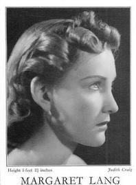 Margaret Lang